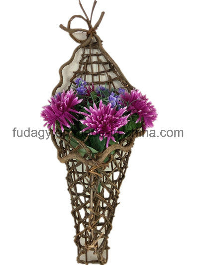 Decorative Handmade Rattan Garden Decoration