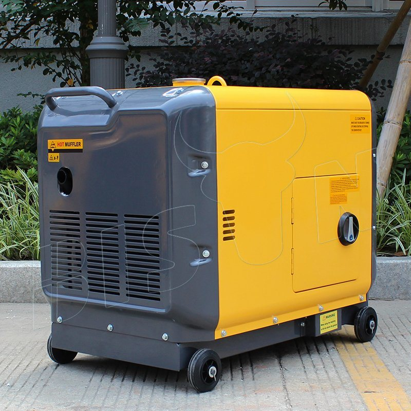 Bison (China) BS7500dsea 6kw Factory Price OEM Factory Long Run Time Reliable Welding Generator Diesel Price