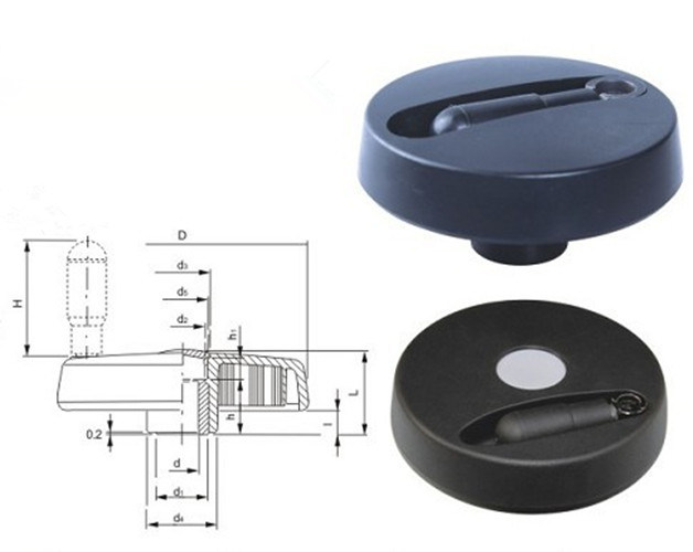Plastic Plane Hand Wheel for Machine Tool