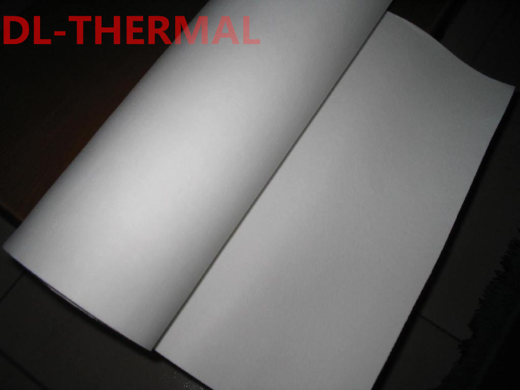 Thermal Insulation Ceramic Fiber Paper 6mm Thick 1350 Grade