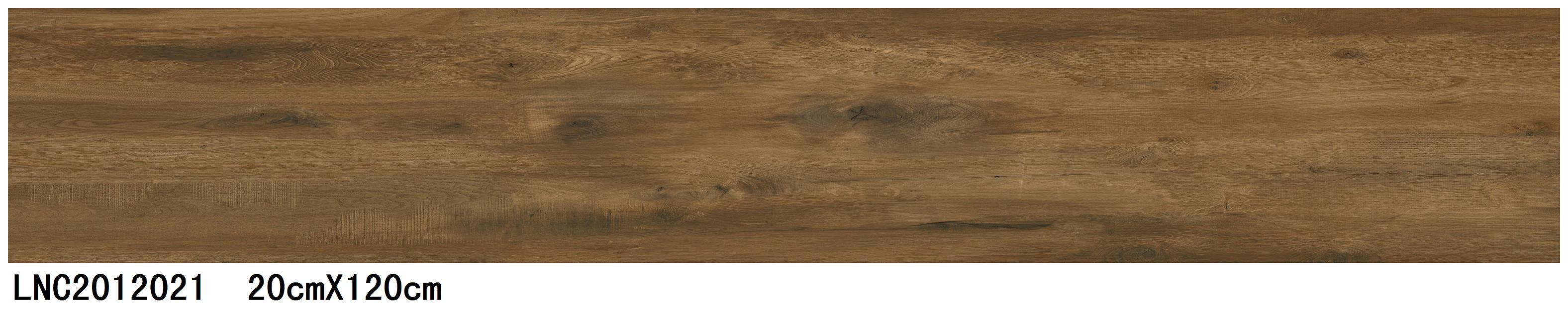 High Quality Building Material Porcelain Wood Tile Floor Tile Lnc2012021 Brown