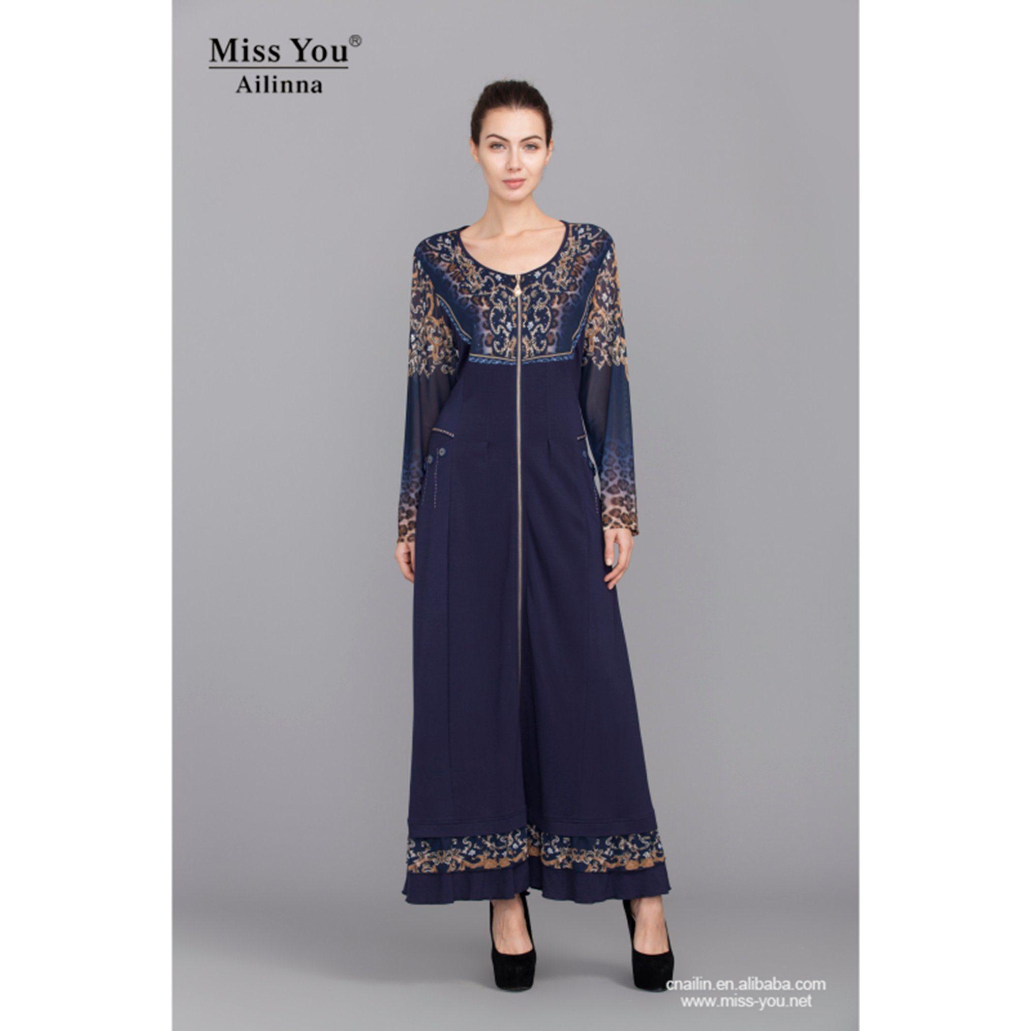 Miss You Ailinna 102871 Women Latested Design Muslim Dress