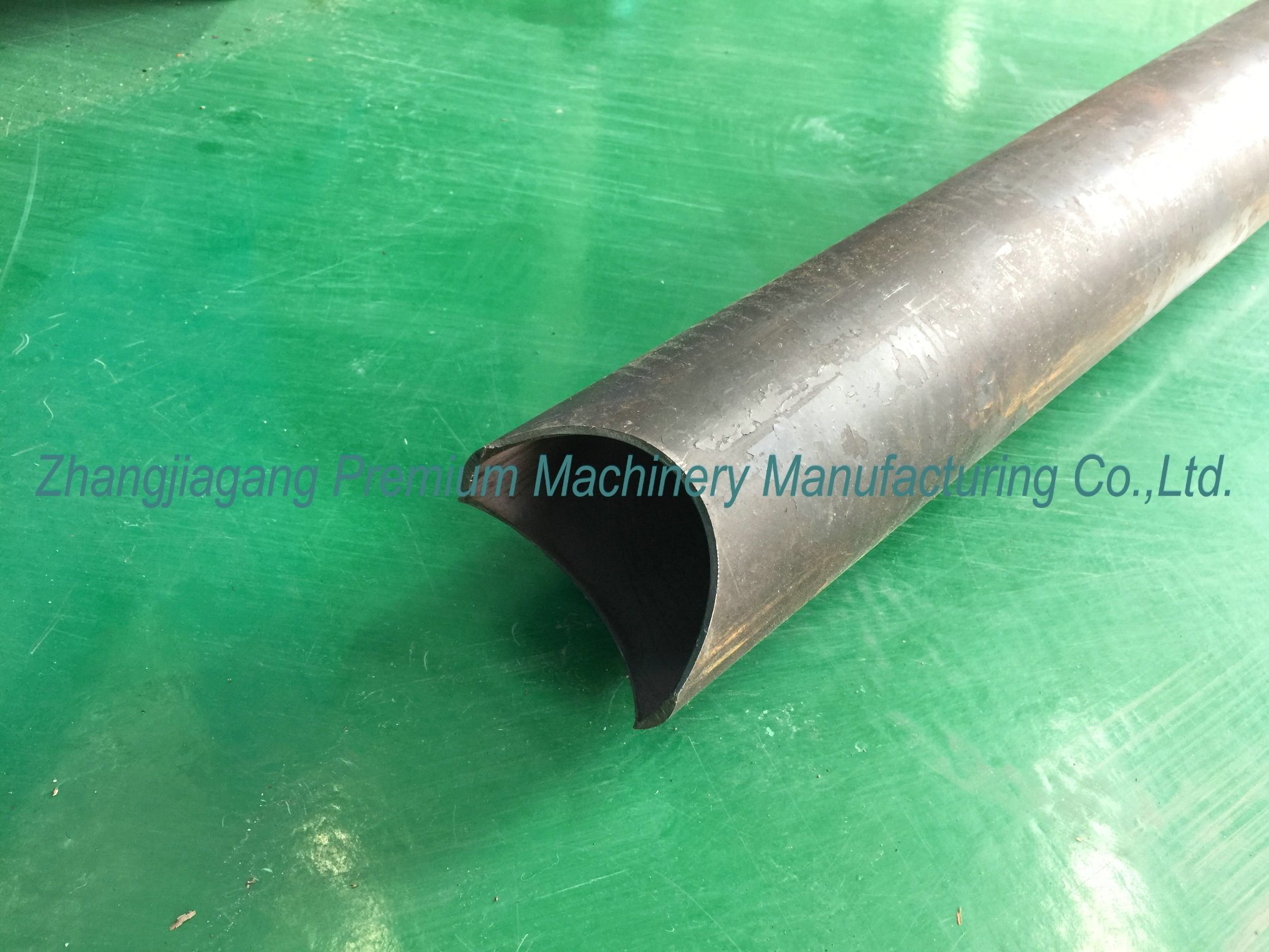 Pipe Particular Shape Machine Plm-CH60 Pipe End Arc Punching Machine