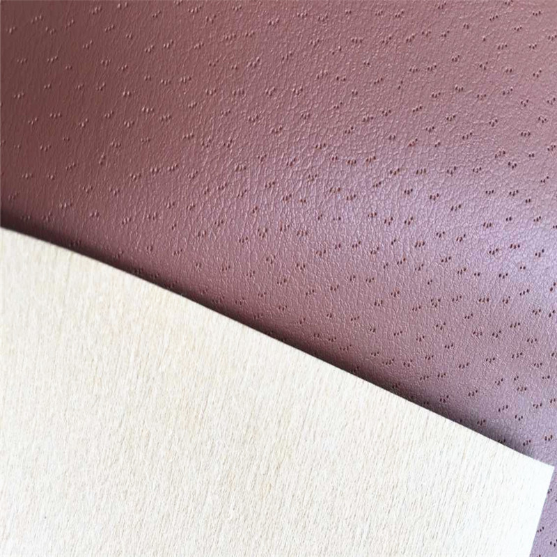 Nonwoven Shoes Lining PU Leather Fabric Hx-L1720
