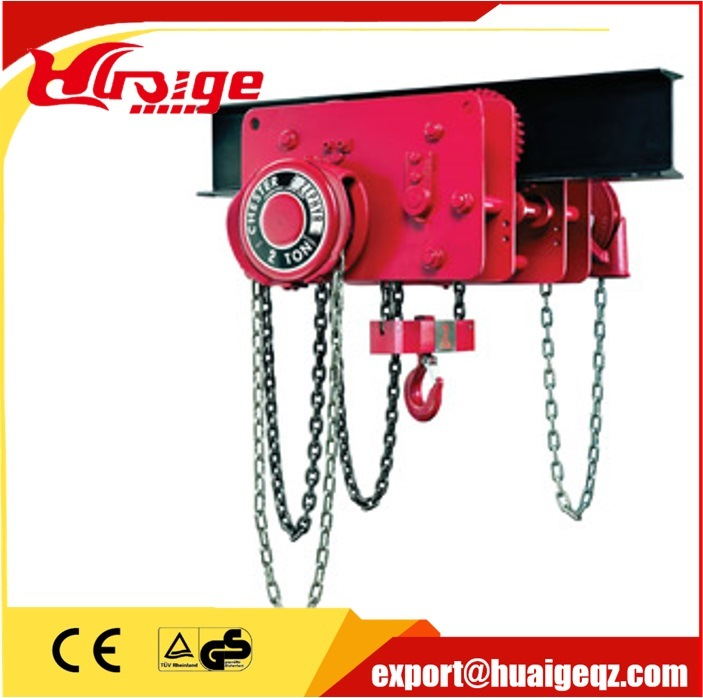 1ton Low Headroom Trolley Hoists