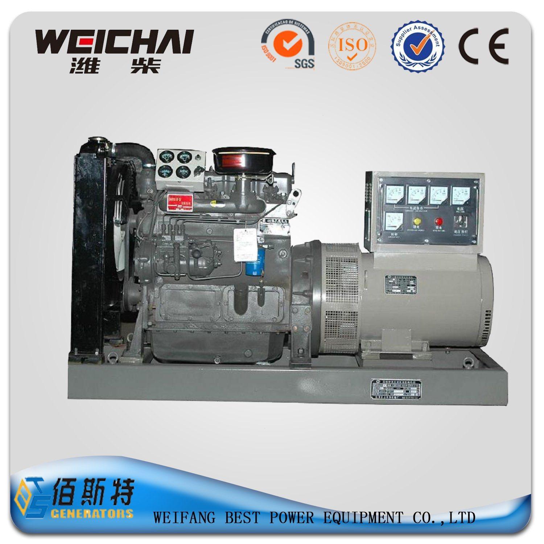 China Weichai K4100d 30kw Diesel Generator with Ricardo Engine