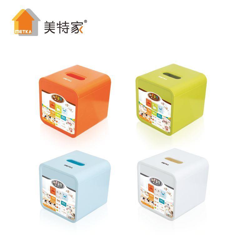 Metka Household Fun Roll Paper Tissue Box