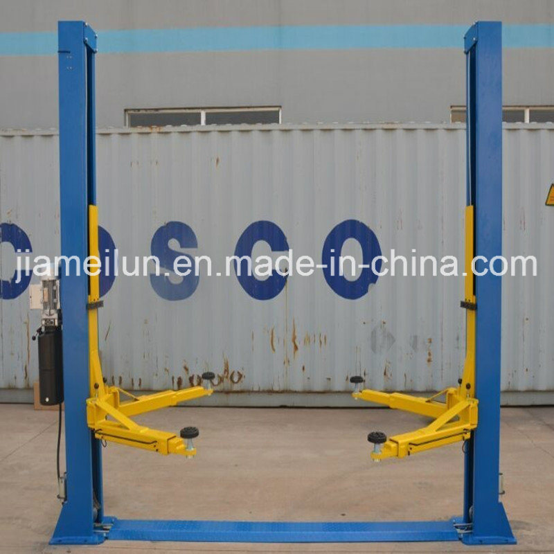 2 Post Car Lift in Clear Floor Type with Ce