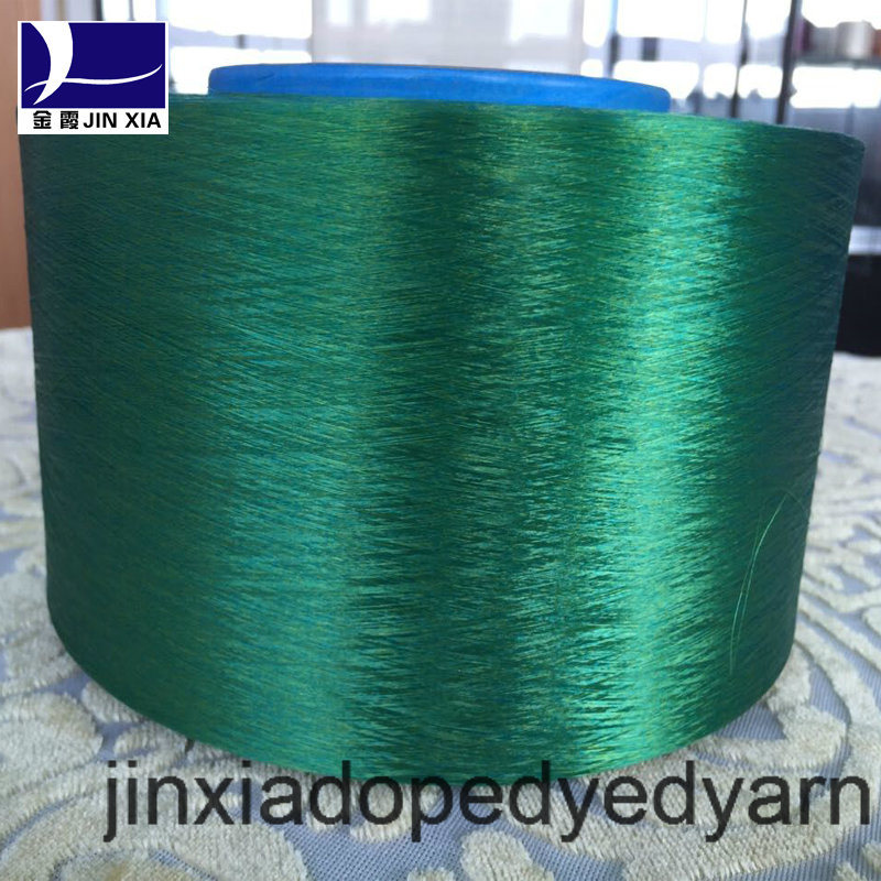 FDY Dope Dyed 400d/288f Filament Polyester Yarn