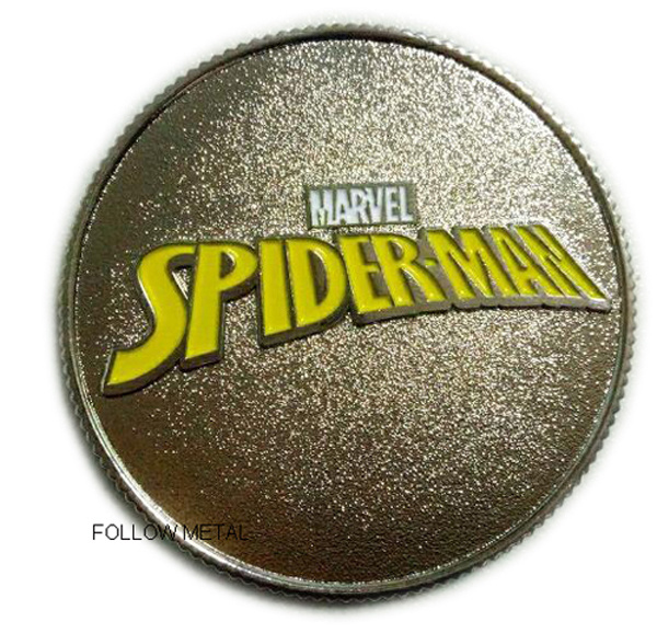 Customized Collection Coin for Spiderman