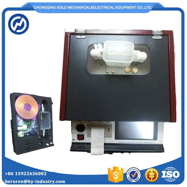 IEC156 Transformer Oil Breakdown Voltage Tester with Printer