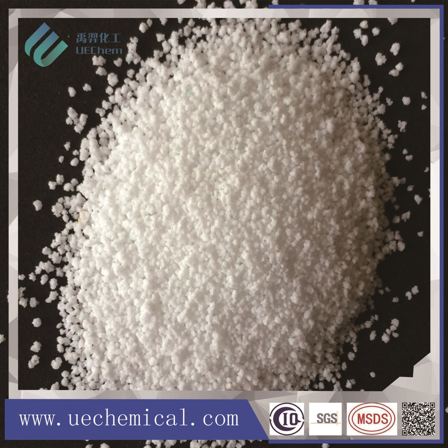 Detergent White Granules with Sodium Sulphate