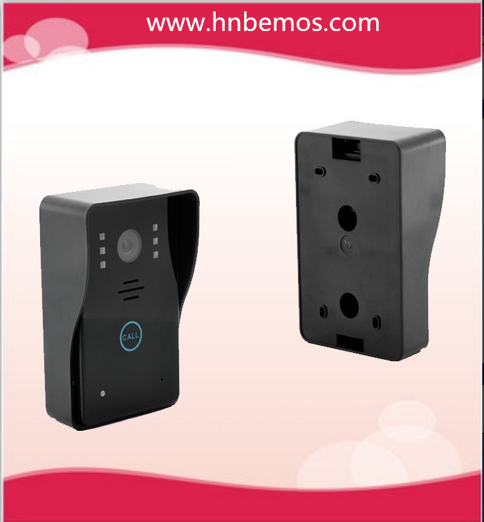 """New 7"""" Color Hands Free Video Doorphone with IR Camera with Electronic Lock"""