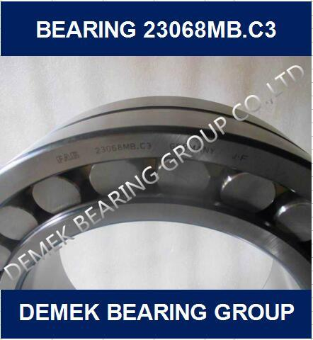 Big Size Spherical Roller Bearing 23068 Mbc3 with Brass Cage