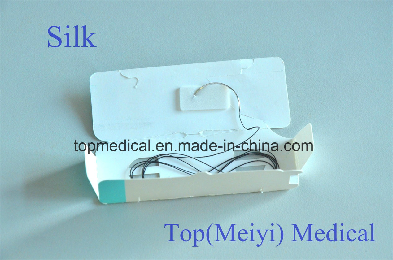 Silk Braided Suture Non-Absorbable