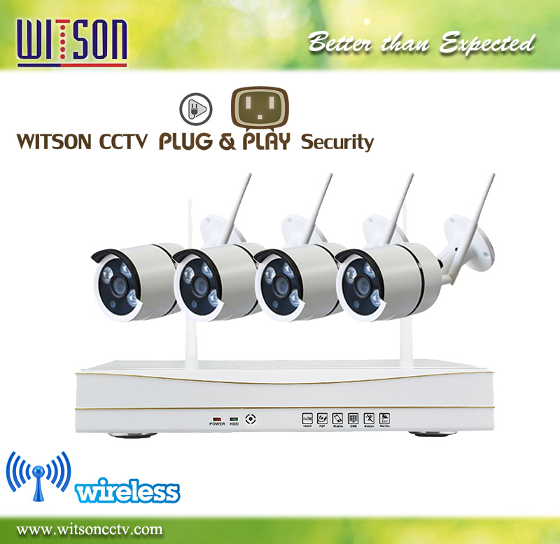P2p 720p Digital Wireless Home Surveillance Security IP WiFi CCTV Camera System NVR Kit
