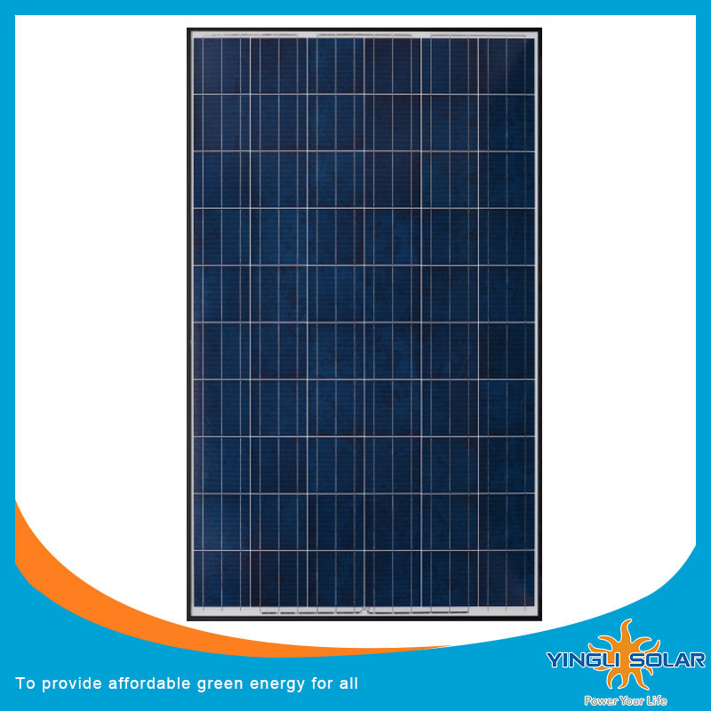 200W Photovoltaic Poly Solar Cell Panel Module with Factory Price