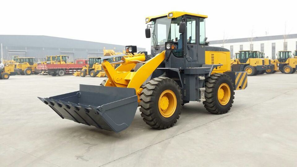 Chinese 3ton Small Front Wheel Loader Price