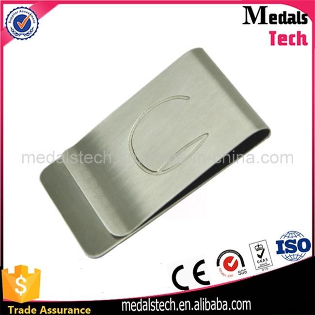 Promotional Custom Logo Cheap Stainless Steel Metal Money Clips