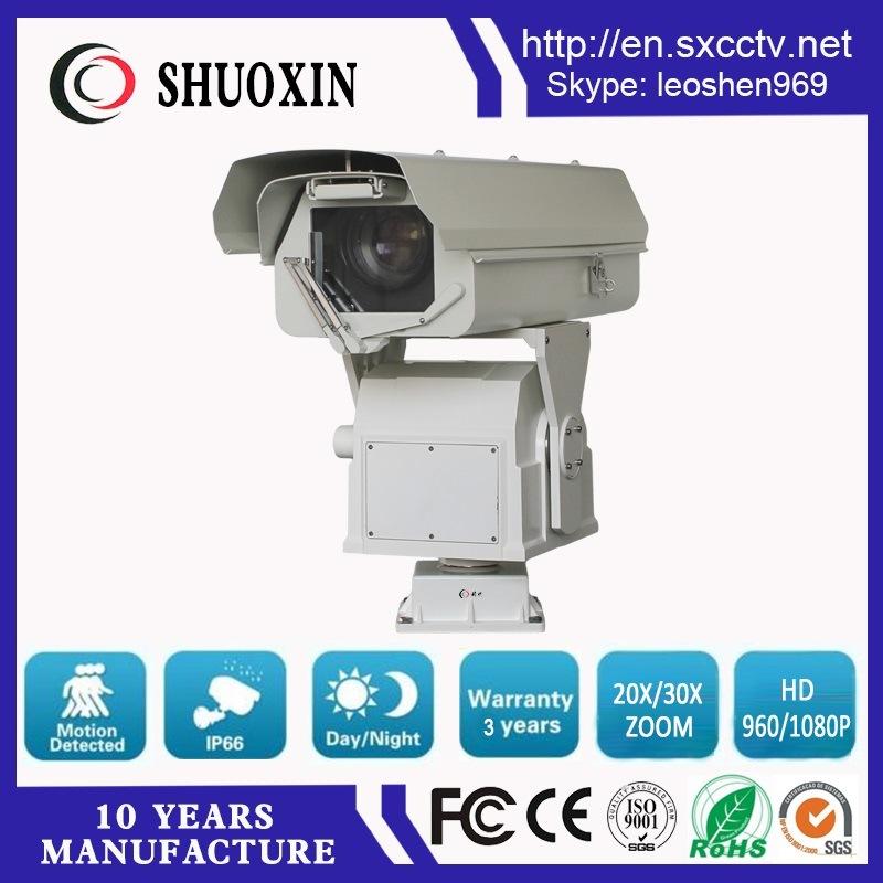 2.5km Day Vision 2.0MP 30X CMOS HD High Speed PTZ CCTV Camera