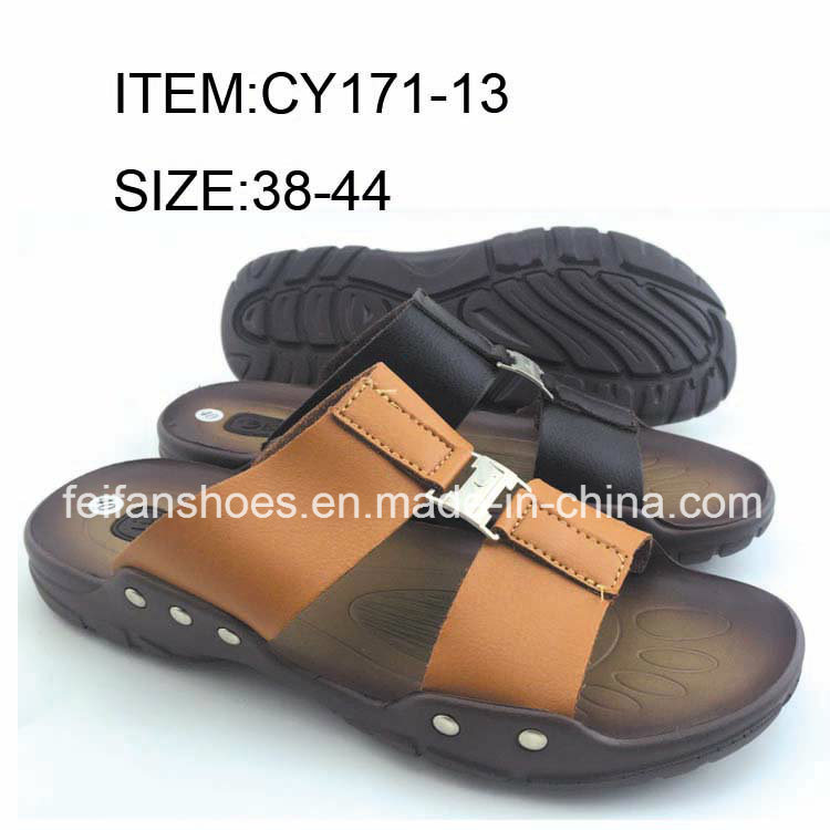 Comfortable Flip Flip Men Slip-on Slippers Casual Sandals (FFCY0411-02)