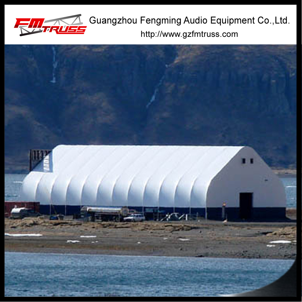 Outdoor Curved Exhibition Trade Fair Aluminum TFS Tent