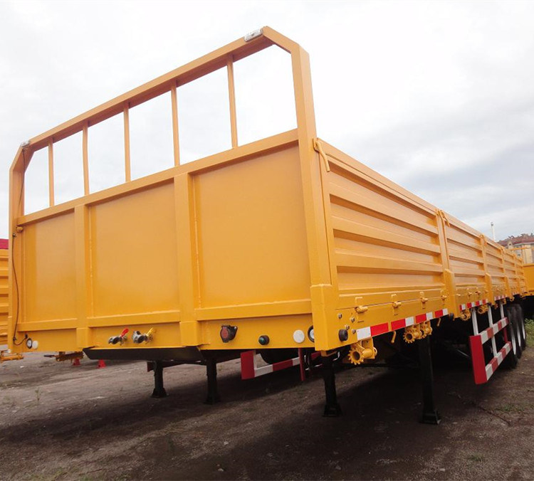Cimc 40′ 3 Axle Flat Bed Lorry Cargo Semi Trailer