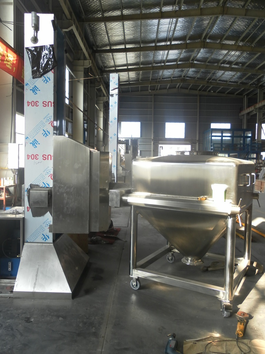 Htd Post Hopper Powder Mixing Machine for Animal Feed/Food/Grain/Seasoning/Flour/Chemical/Graunule/Medicine