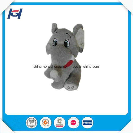 Soft Plush and Stuffed Elephant Toys with Big Ears
