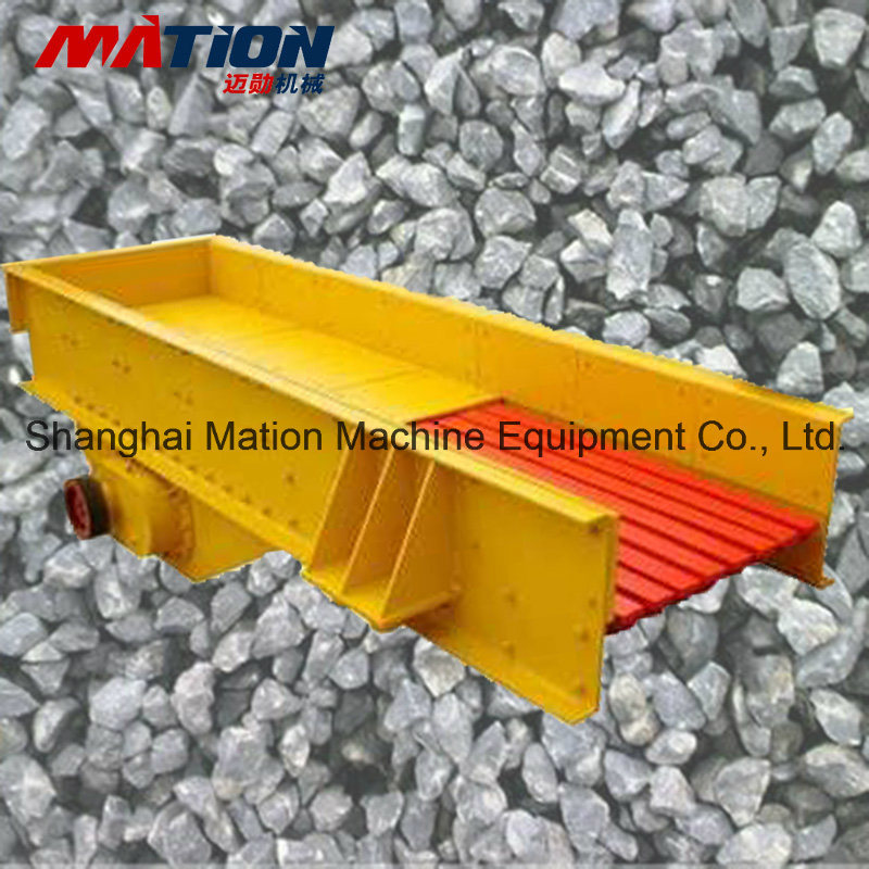 China Brand Zsw Vibrating Stone Feeder