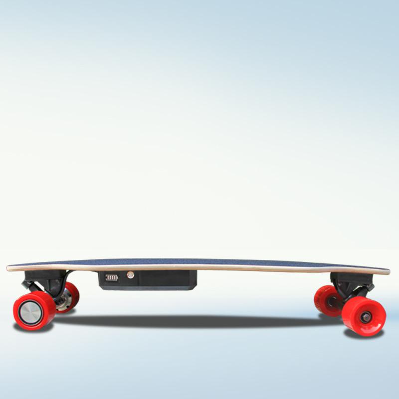 Mini 4 Wheels Electric Kick Skateboard
