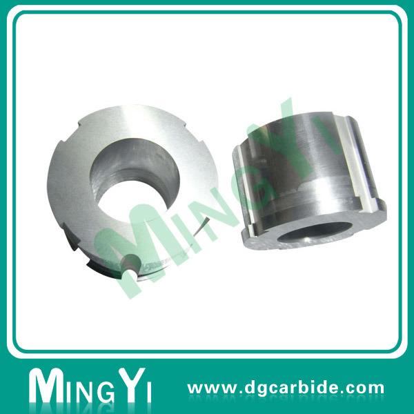Tungsten Carbide Button Die with Metal Parts