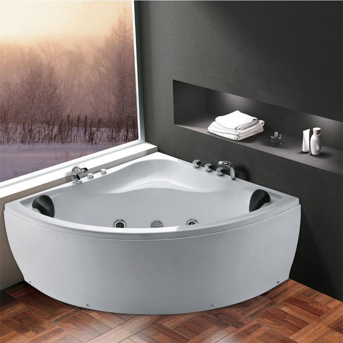 (K1218) Freestanding Acrylic Bathtubs / Massage Whirlpool Bathtubs