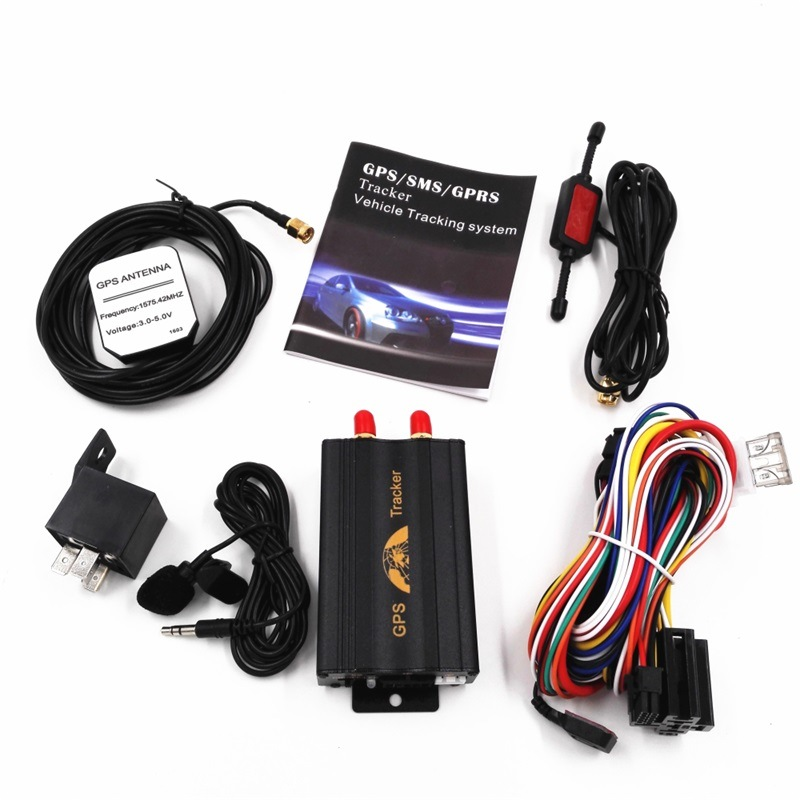 GPS Tracker GSM GPS Tk103A+ Car GPRS SMS Tracking Device Car Safety and Security System