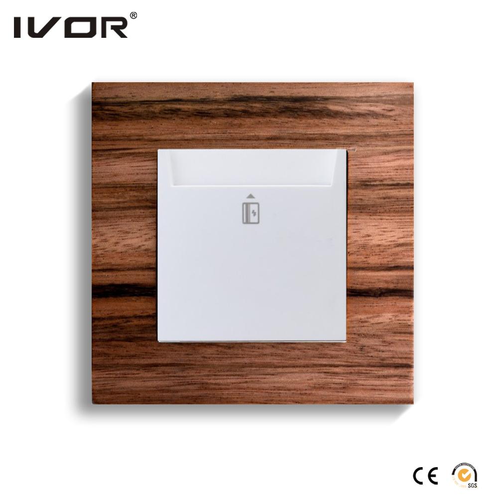 Energy Saver Key Card Power Switch Hr-Es1000-Yun
