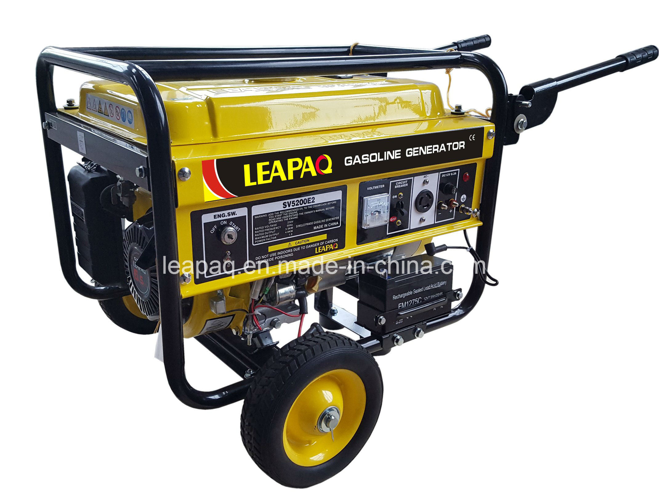 2.5kw Electric Start Portable Gasoline Generator