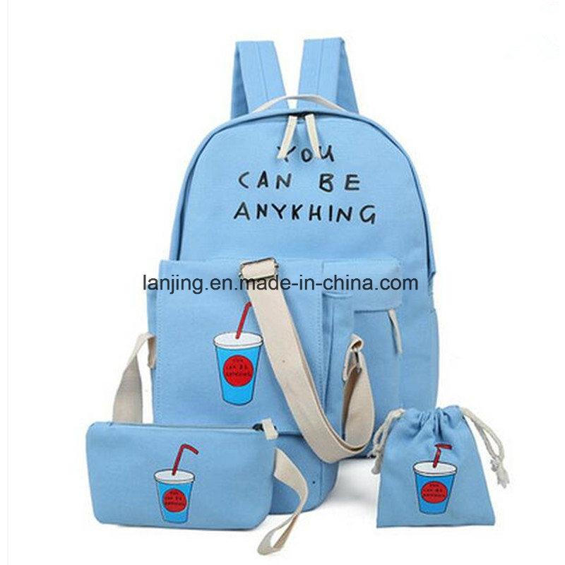 Bw1-058 Women′s Multifunction Backpack Bags Handbags for School Backpack Sets