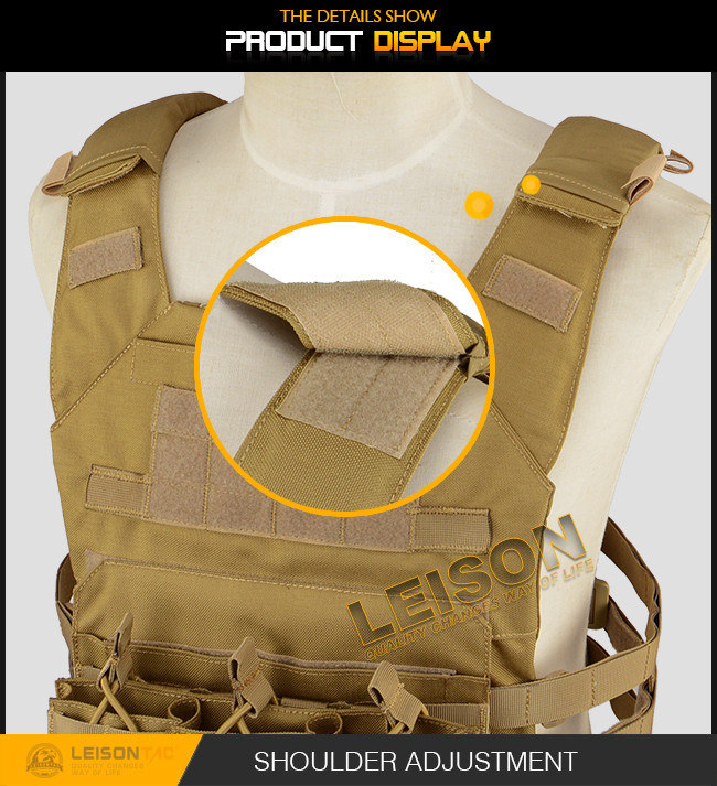 Tactical Plate Carrier with Military ISO Standard