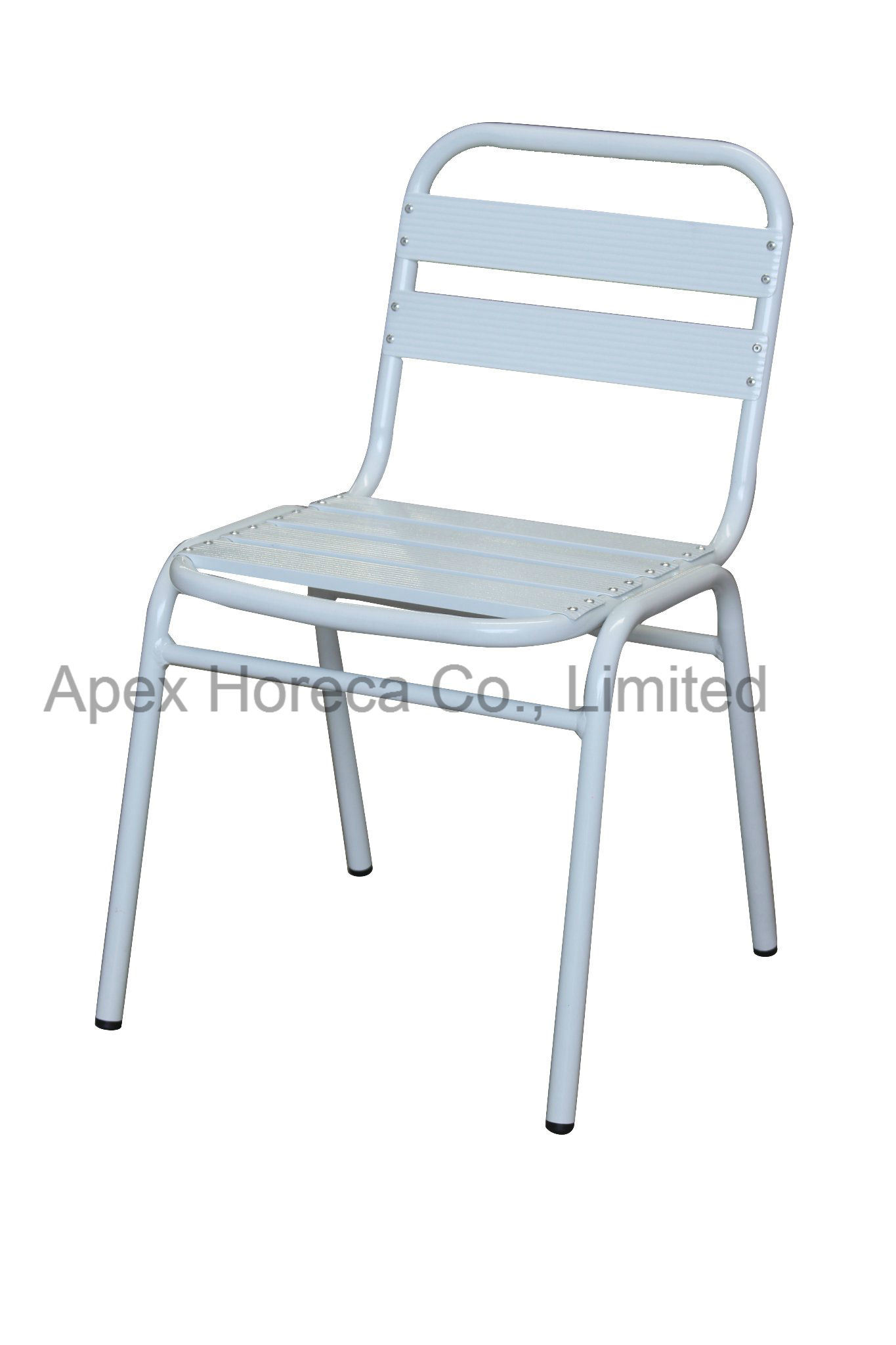 Aluminum Side Chair Outdoor Powder Coated Chair Restaurant Dining Chair