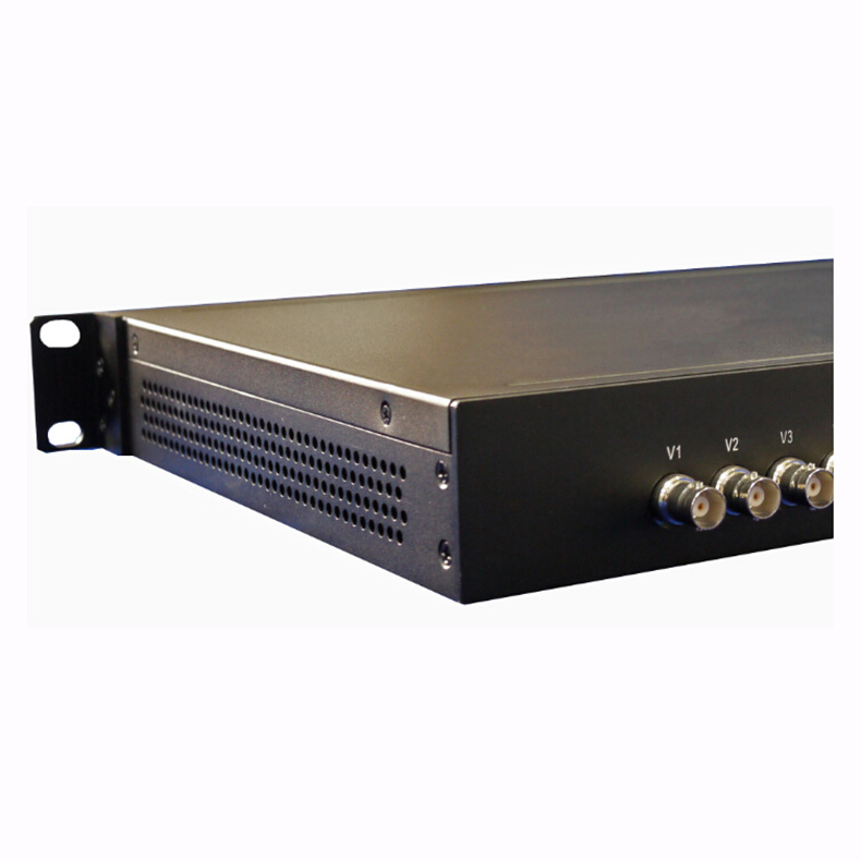 16-Channel Video 20km Fiber Optic Transmitter and Receiver
