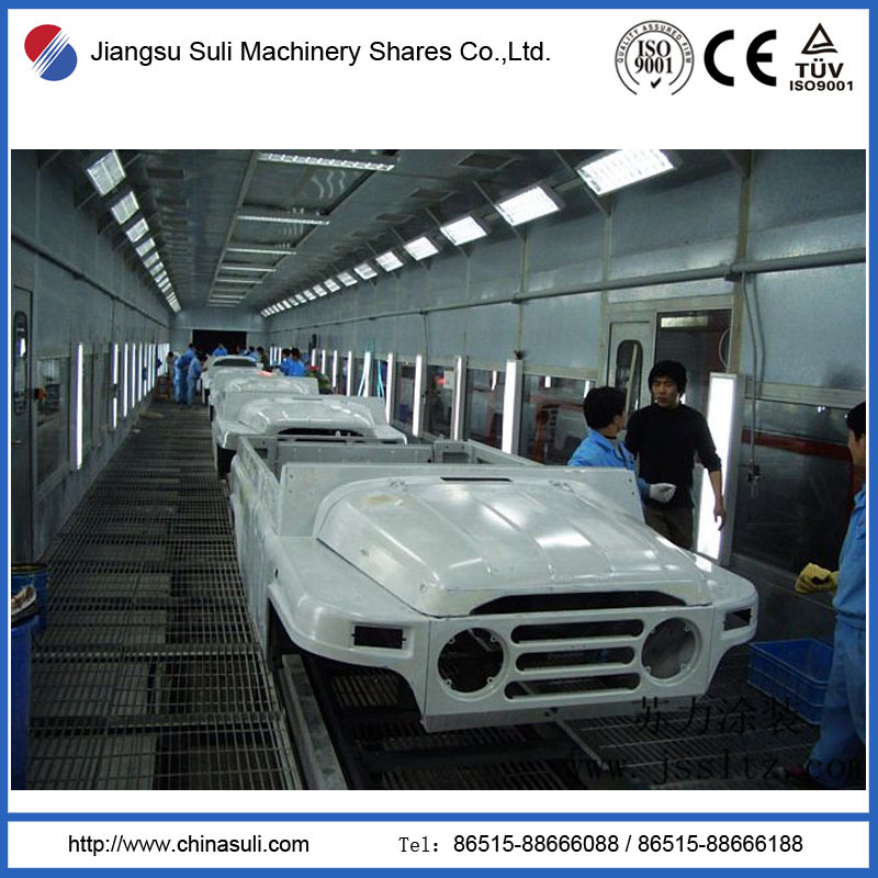 China Suli Shares Powder Car Coating Spray Booth with OEM ODM Design
