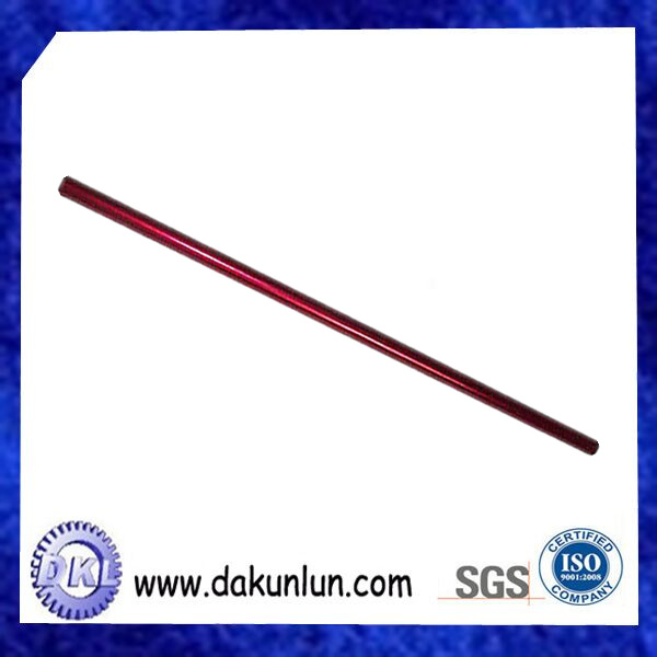 Customized Anodized Colorful Aluminum Precision Needle Bar Long Shaft