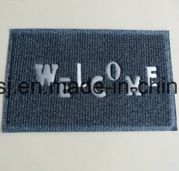Double Color Foot Clean Mat Anti-Slip Floor Mat