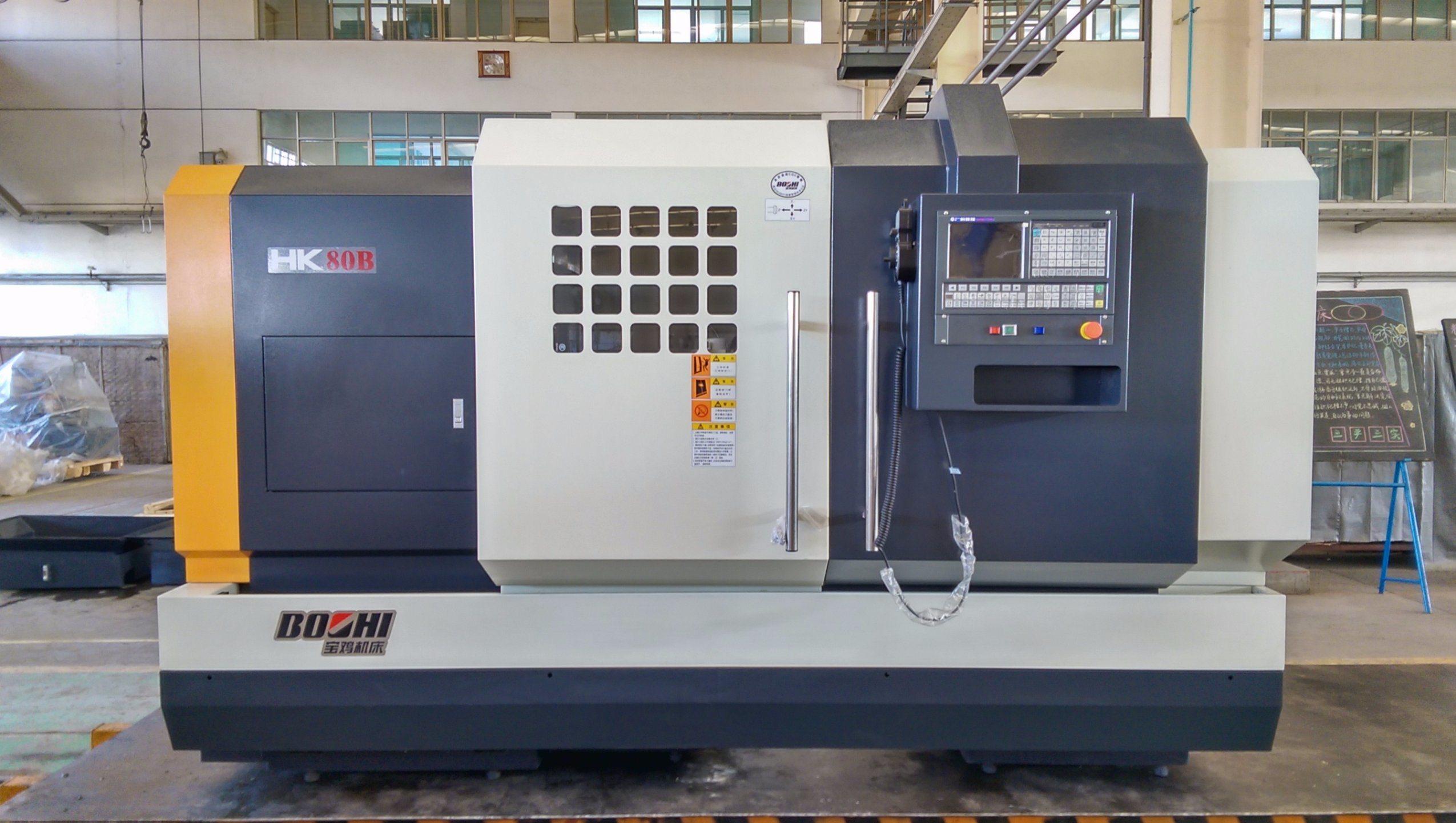Falt Bed CNC Lathe HK63b/ HK80b