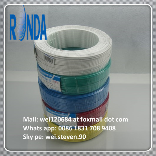 Insulated Solid Flexible Flat Round Copper Electrical Electric Wire