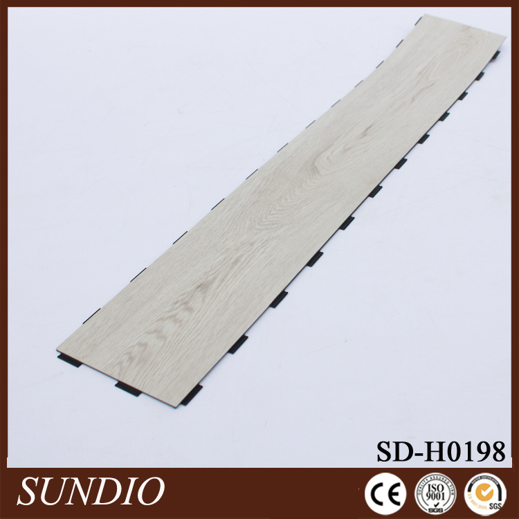 Rosewood Look Laminate PVC Plastic Flooring