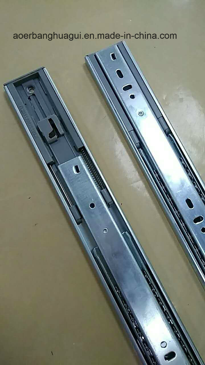 45mm Full Extension Drawer Slide with Soft Closing