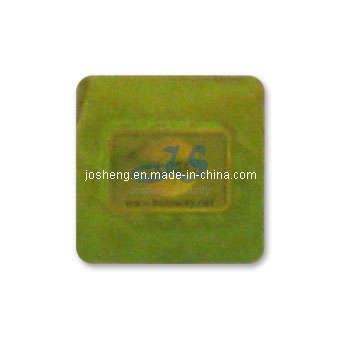 PVC Hologram Sticker for Security Plates (JS0015)