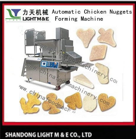 Automatic Chicken Nuggets Forming Machine