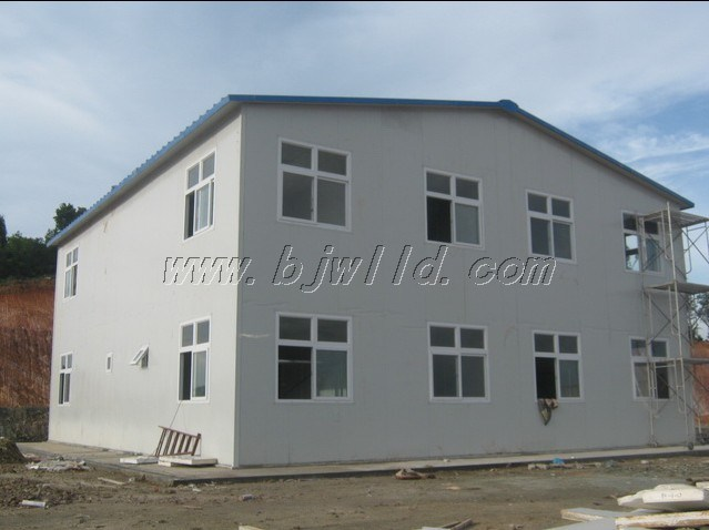 China low cost two story prefabricated building photos for Cost to build a 2 story house